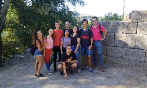 Spanish group at Guimaraes