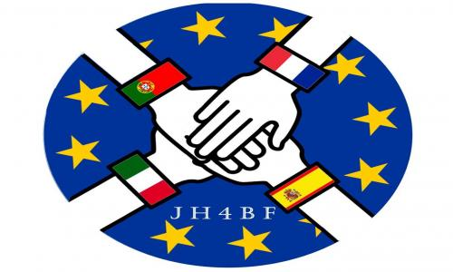 Final Joining Hands logo, proposed by French Team.